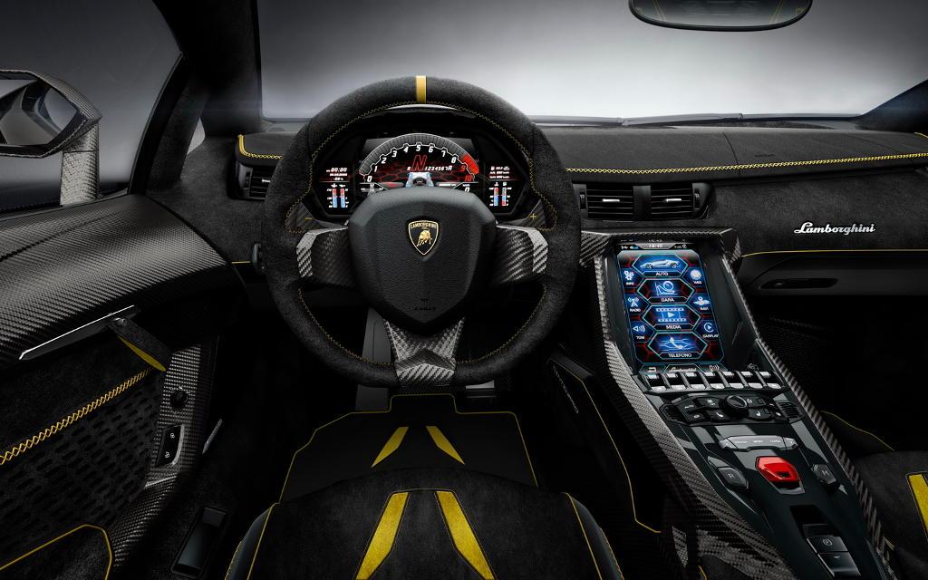 салон Lamborghini Centenario 2016