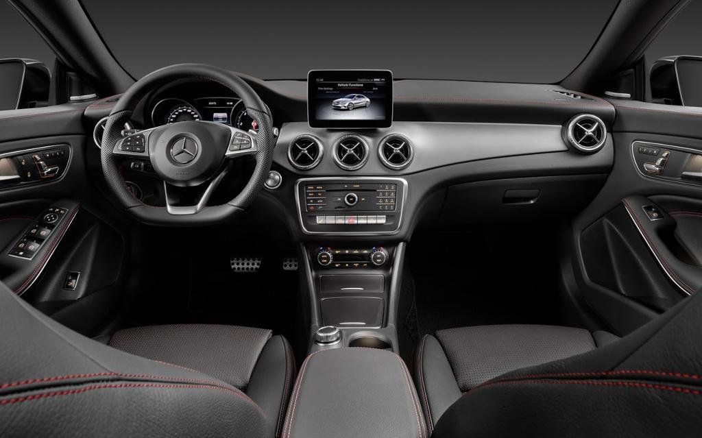 салон Mercedes CLA 2017
