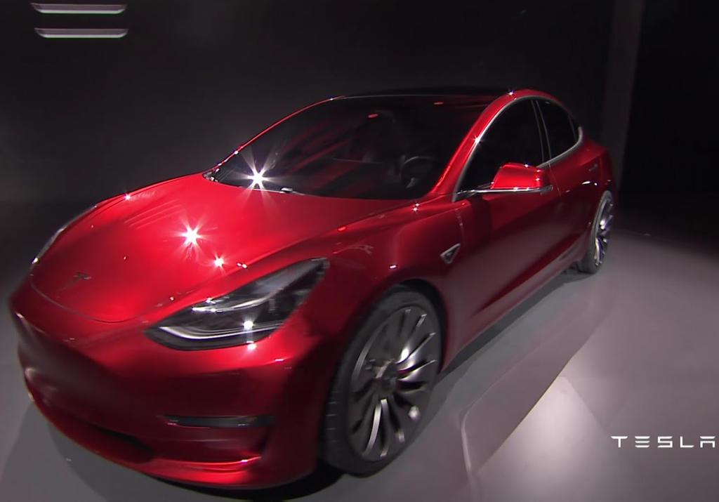 фары Tesla Model 3