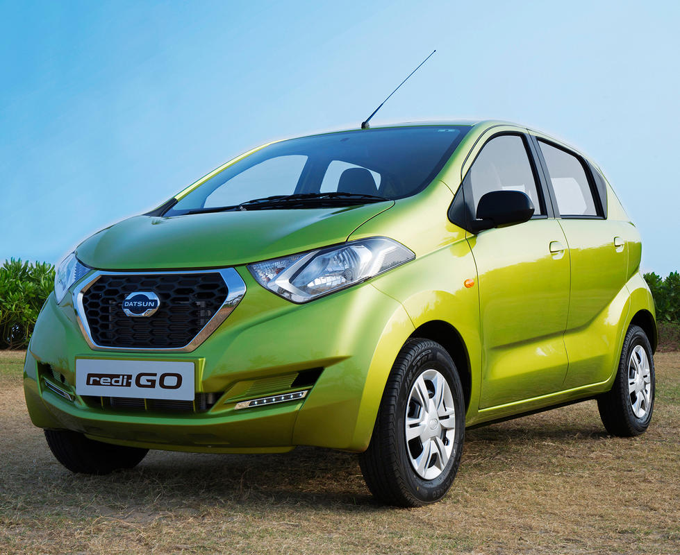 В Индии показали хэтчбек Datsun Redi-Go (цена, фото)