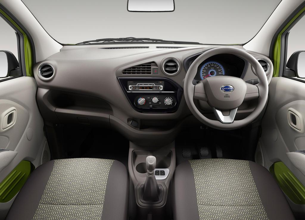 салон Datsun Redi-Go