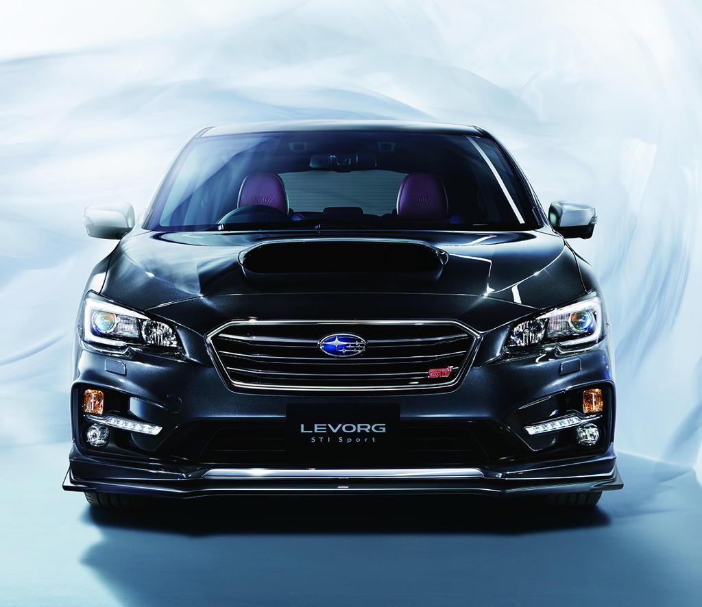 фары, решетка, бампер Subaru Levorg STI Sport 2016–2017