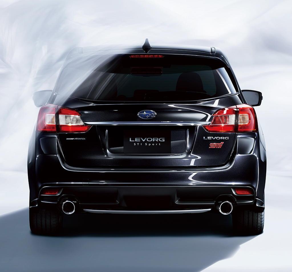 задние фонари Subaru Levorg STI Sport 2016–2017