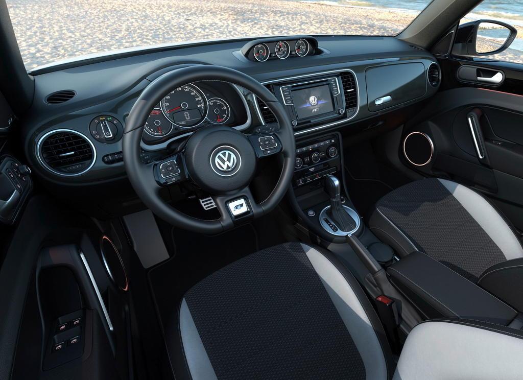 салон Volkswagen Beetle «Жук» 2016–2017