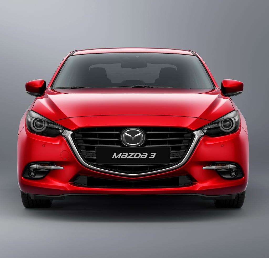 фары, бампер, решетка Mazda 3 2017