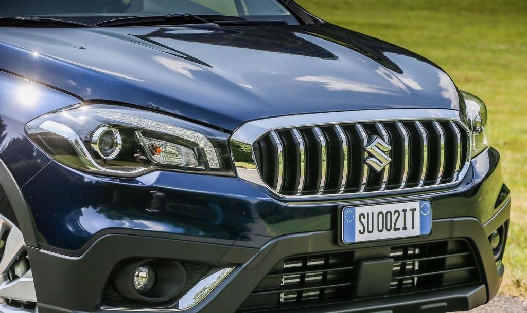 фары, решетка, бампер Suzuki SX4 2017