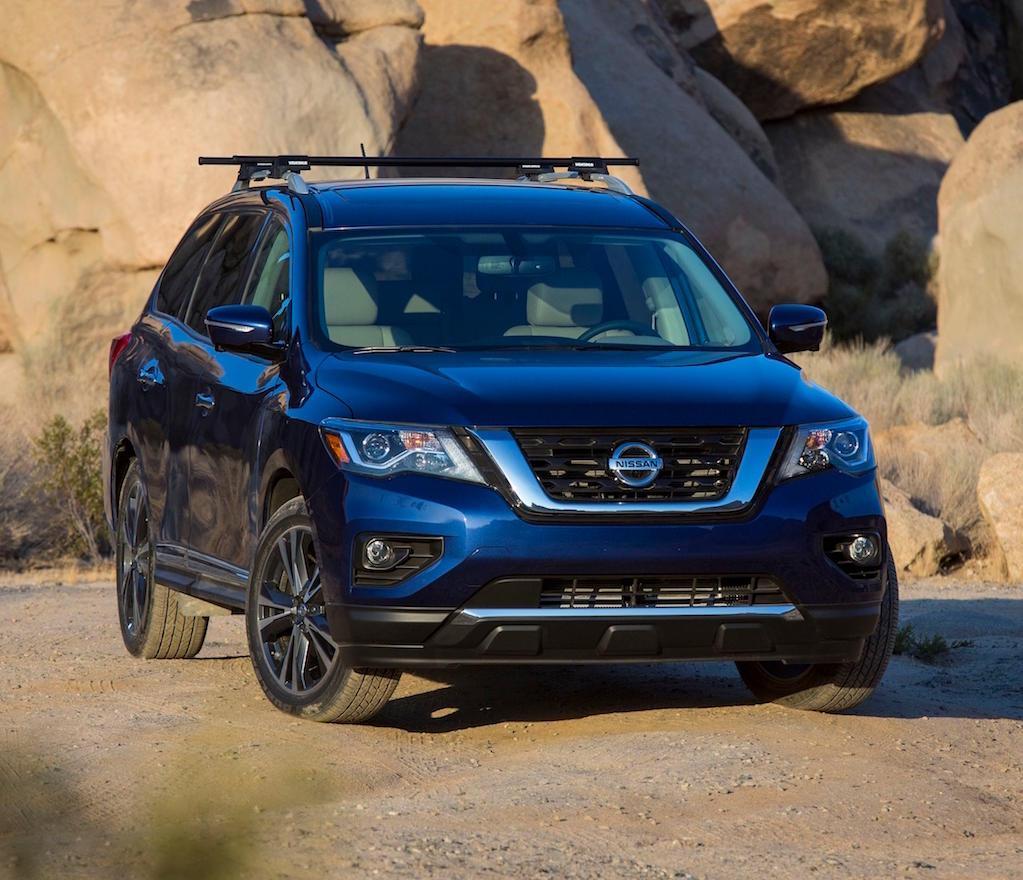 фото Nissan Pathfinder 2017