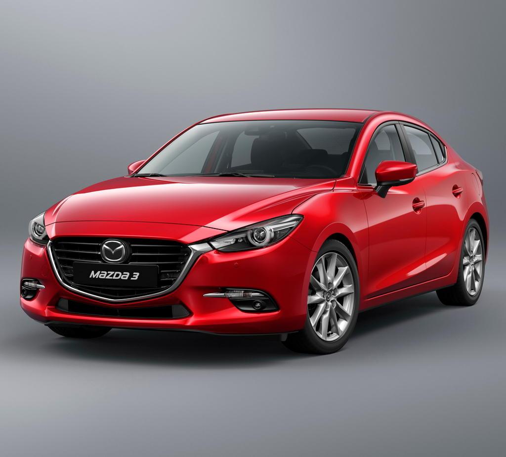 фото седана Mazda 3 2018
