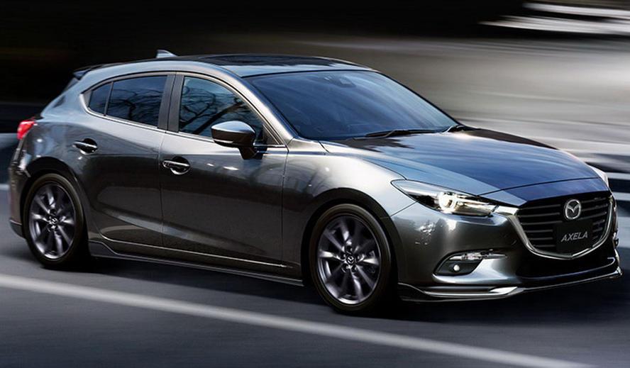 хетчбэк Mazda 3 2017