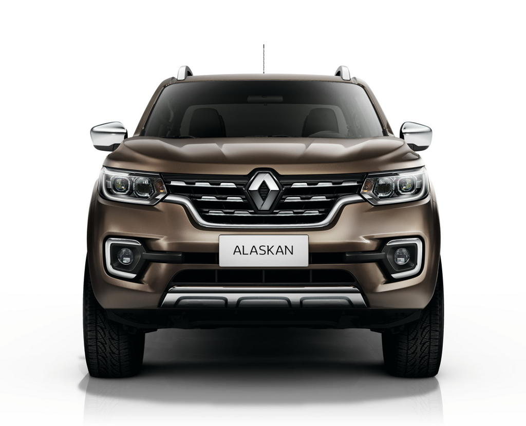 решетка, бампер, фары Renault Alaskan 2016–2017