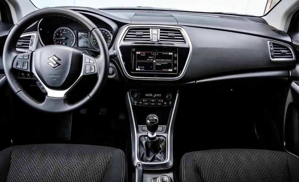 Обновленный Suzuki SX4 (S-Cross) 2017 (фото, цена)