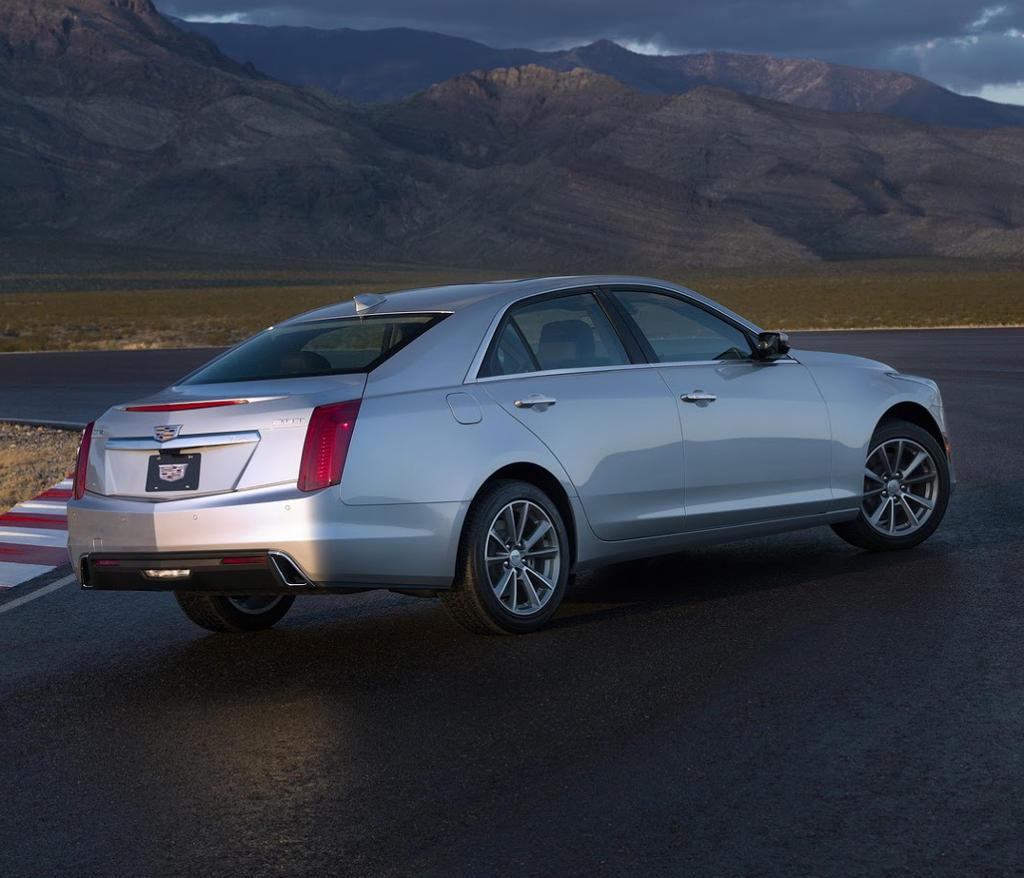 задняя часть Cadillac CTS 2017