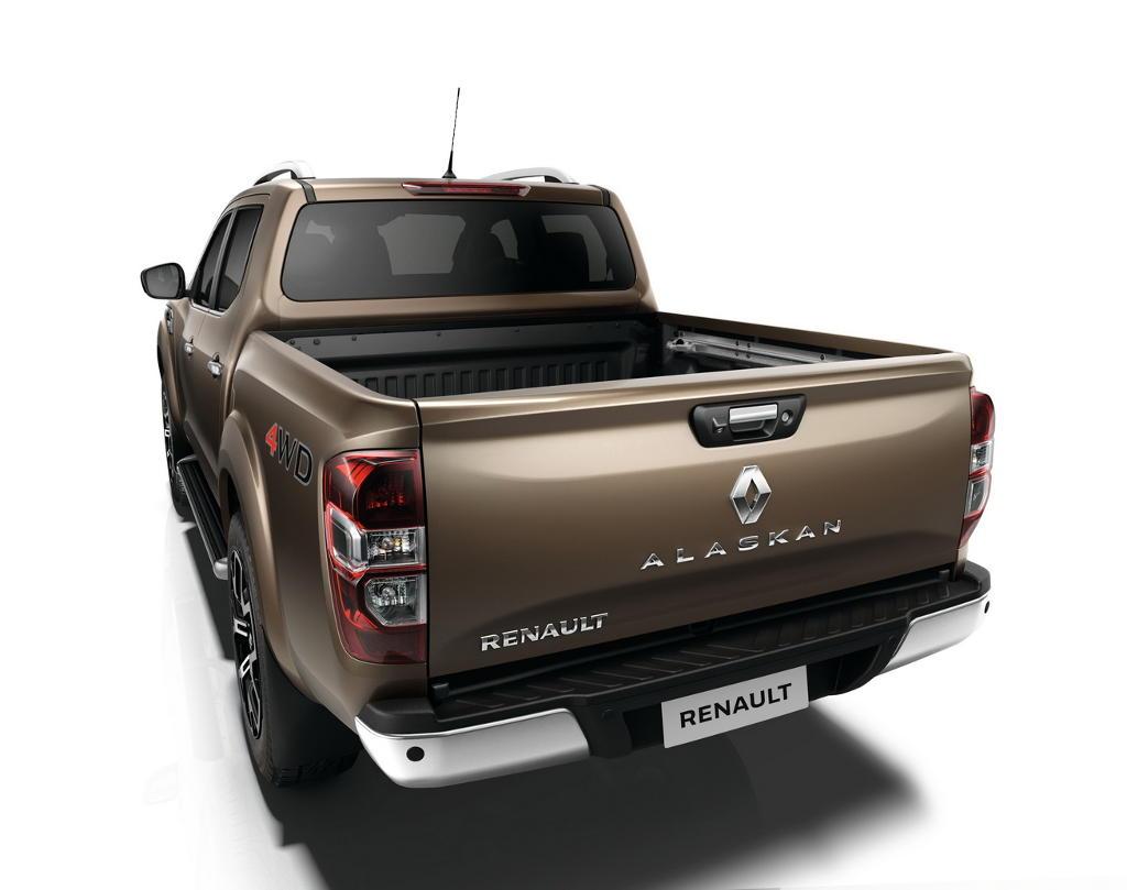 задняя часть Renault Alaskan 2016–2017