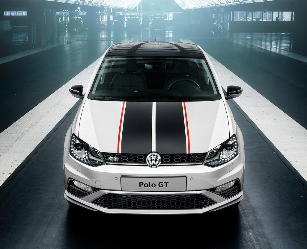 фары, решетка, бампер Volkswagen Polo GT 2016