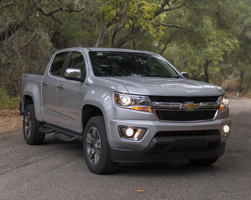 фото Chevrolet Colorado 2017 года