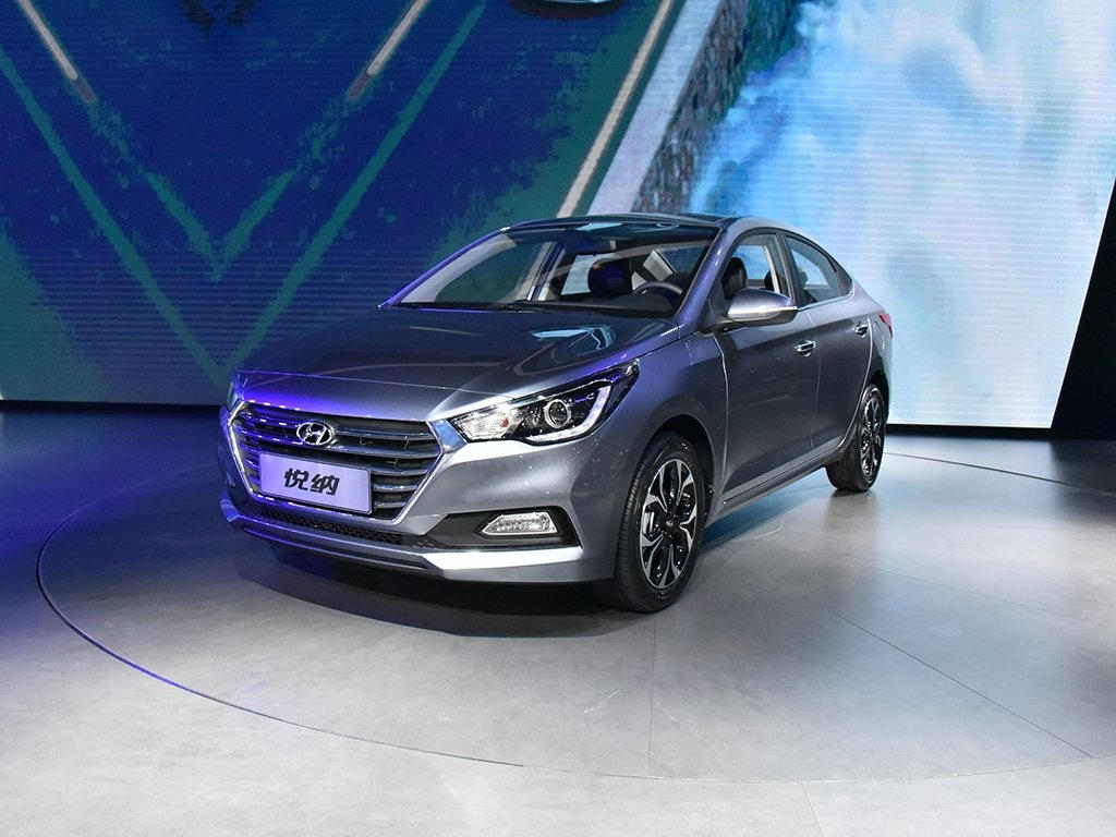 фото нового Hyundai Solaris 2017