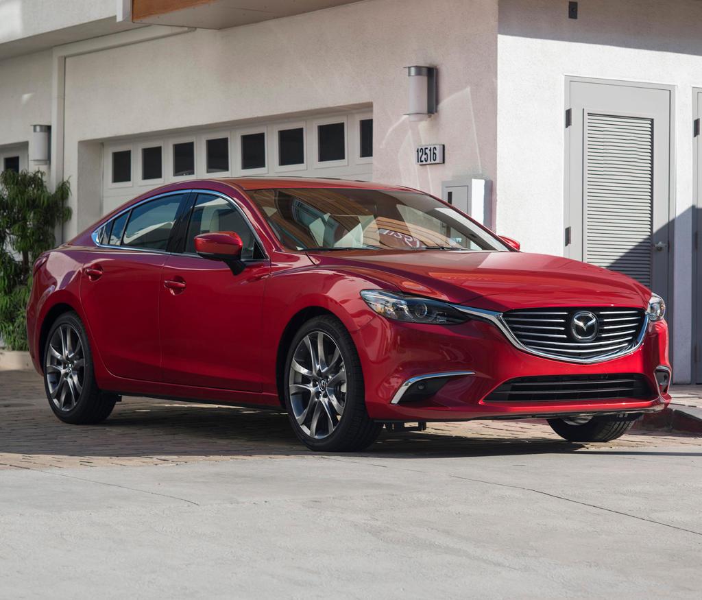 фото новой Mazda 6 2017