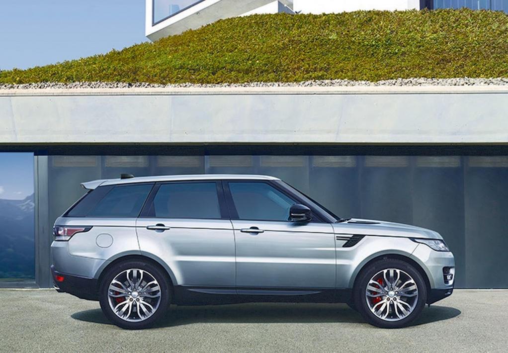 новый Land Rover Range Rover Sport 2017 сбоку