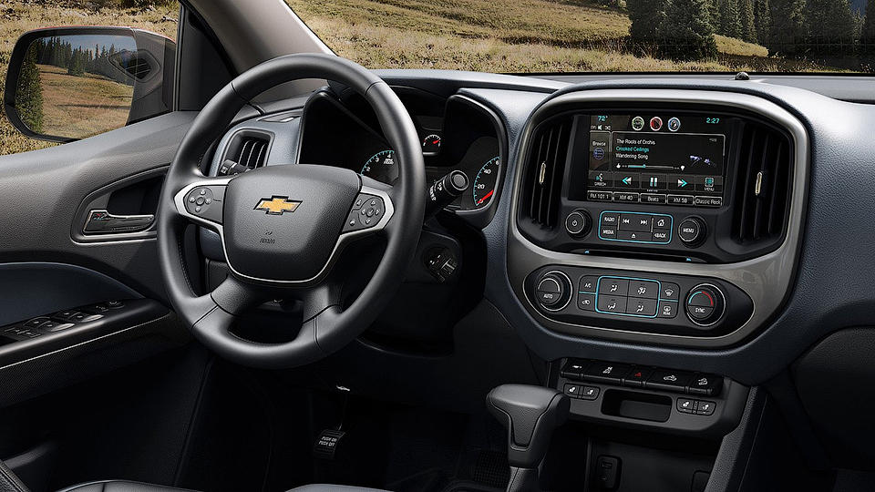 салон Chevrolet Colorado 2017 фото