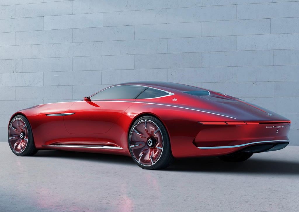 задняя часть Vision Mercedes-Maybach 6