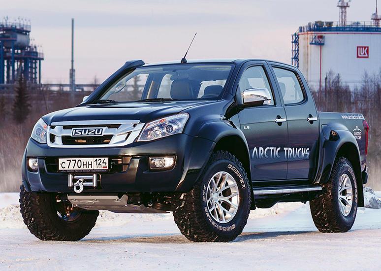 Isuzu D-Max Arctic Trucks 2017 - 2018