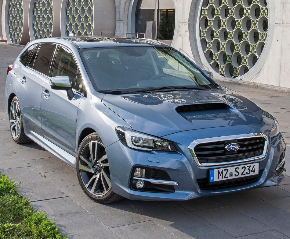Краш-тест Subaru Levorg 2016 видео