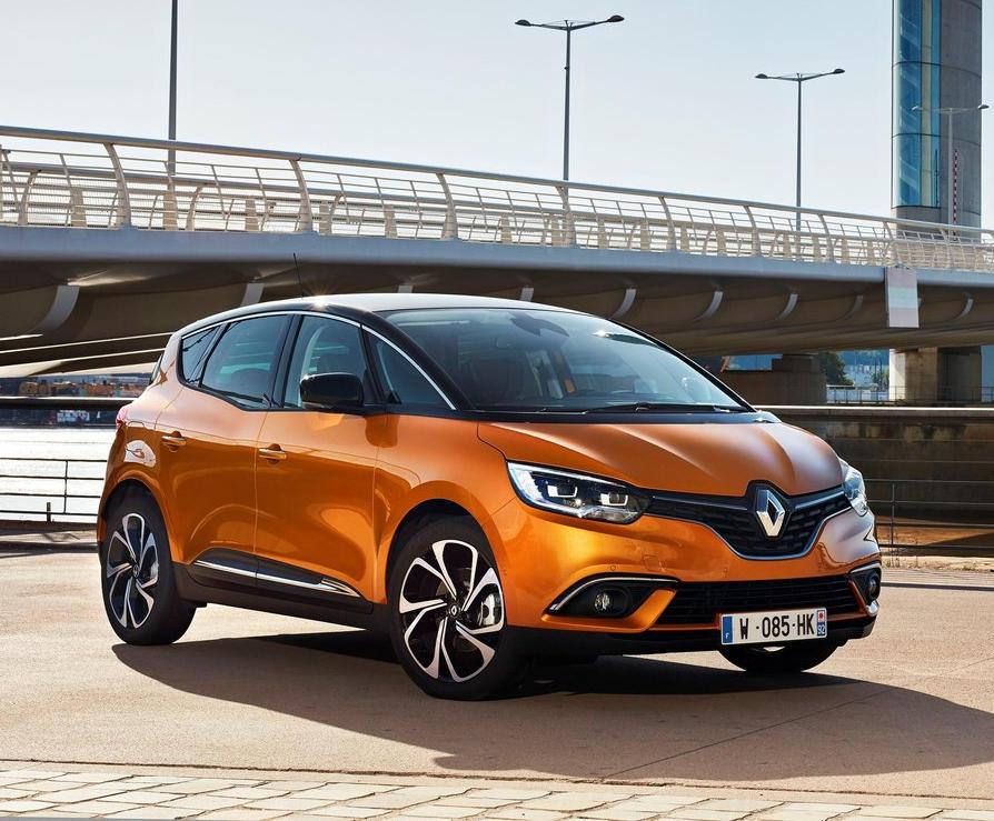 Краш-тест нового Renault Scenic 2017 видео