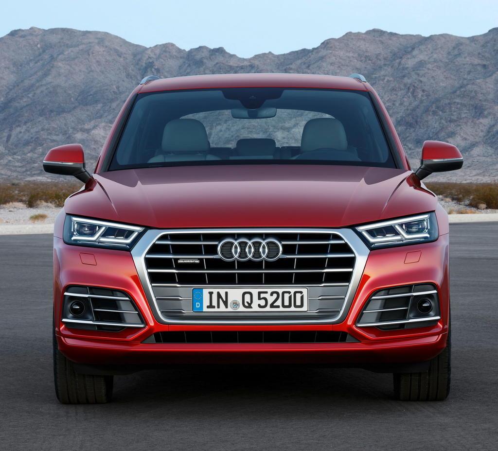 фары, бампер, решетка Audi Q5 2017