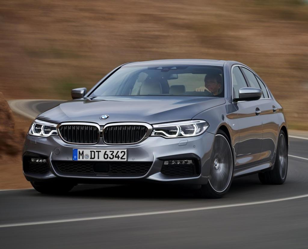 фото BMW 5-Series 2017 G30 новая