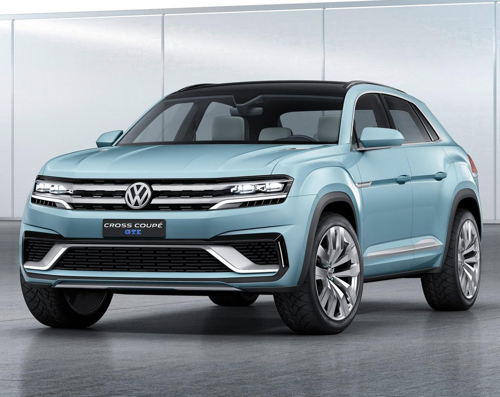 фото Volkswagen Cross Coupe GTE 2015