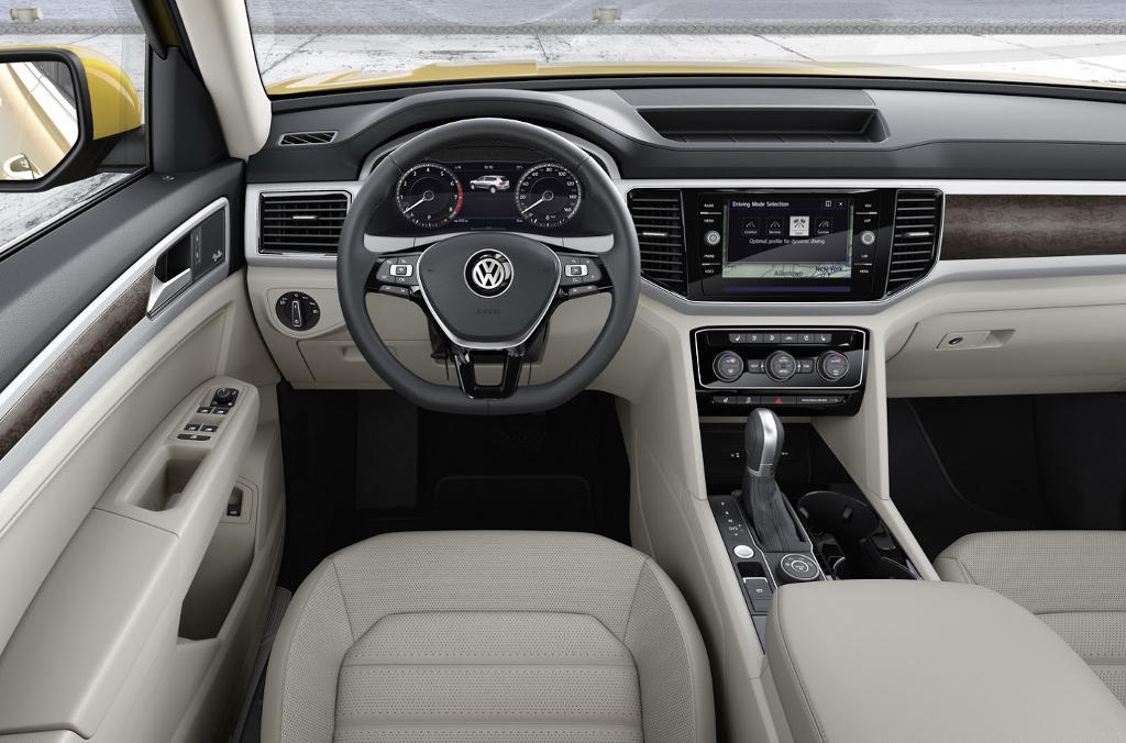 салон Volkswagen Atlas фото