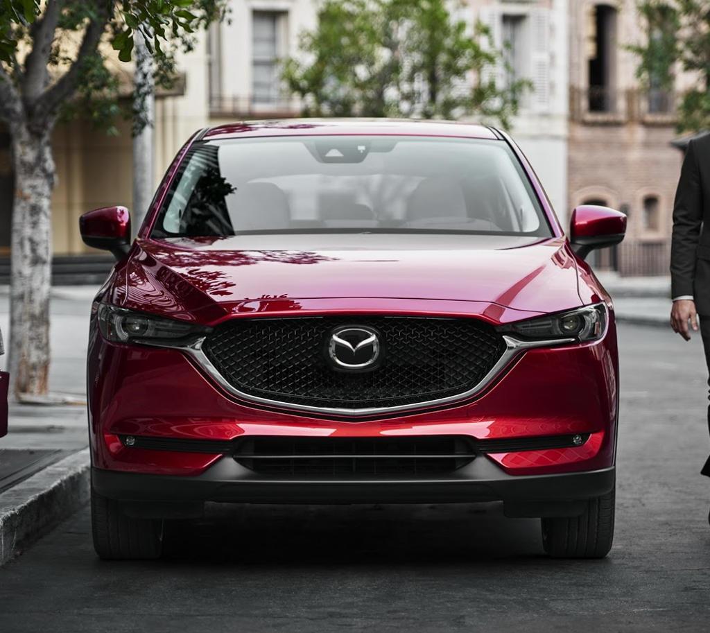 фары, решетка, бампер Mazda CX-5 2018–2019