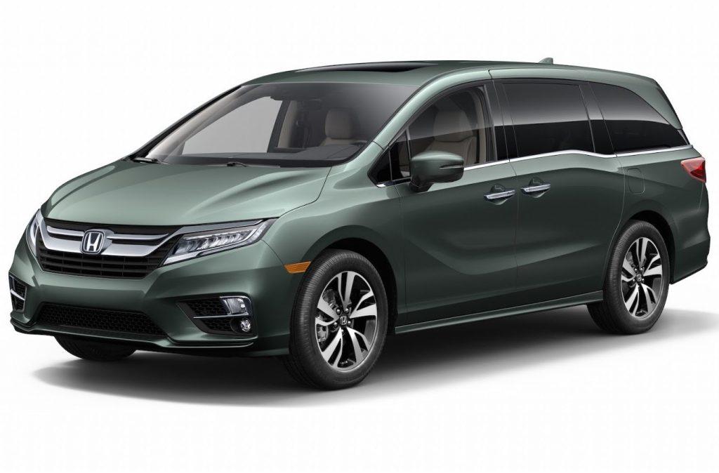 новый Honda Odyssey 2018 фото
