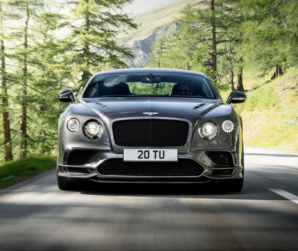 решетка, фары Bentley Continental Supersports 2017 – 2018