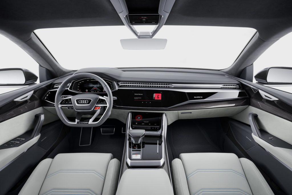 салон Audi Q8 Концепт 2017