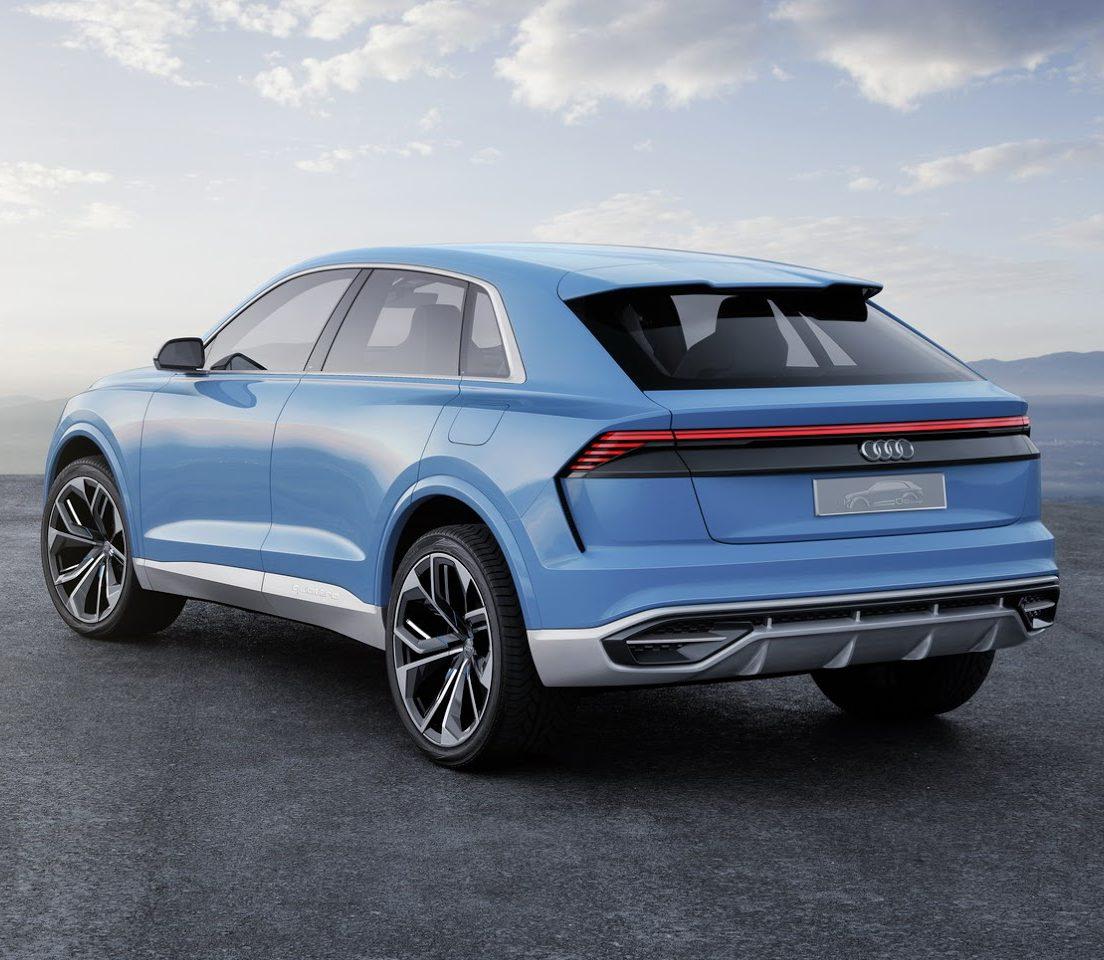 задние фонари Audi Q8 Concept