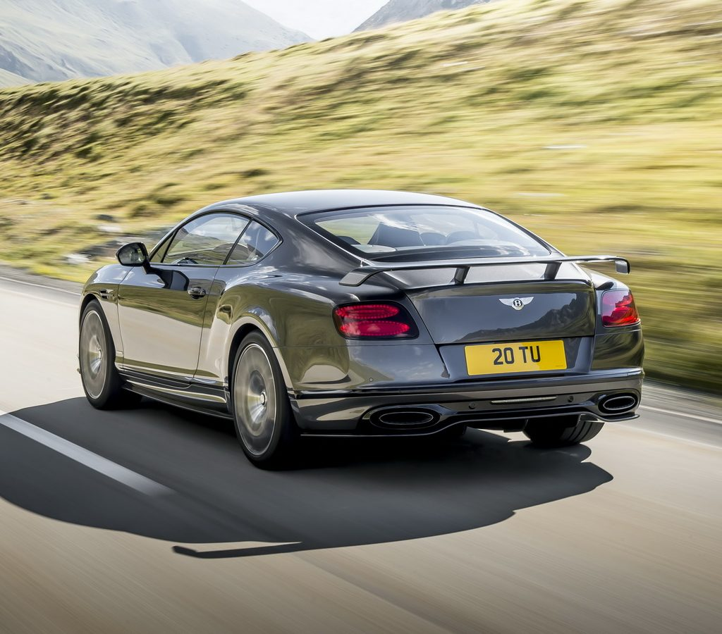 задние фонари Bentley Continental Supersports 2017 – 2018