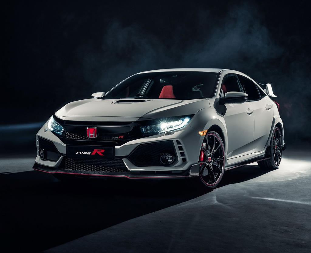 фото Honda Civic Type R 2018 года