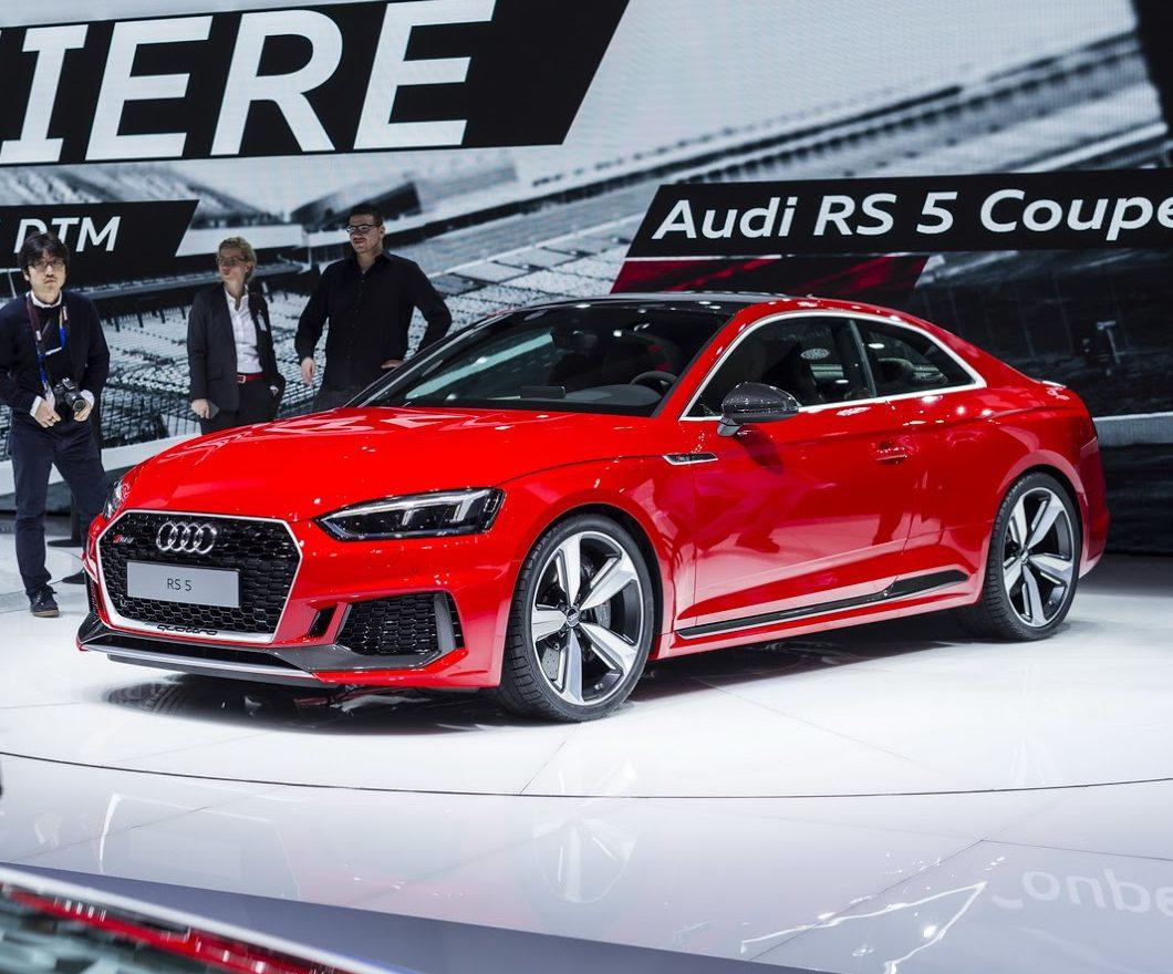 фото купе Audi RS5 2018 года