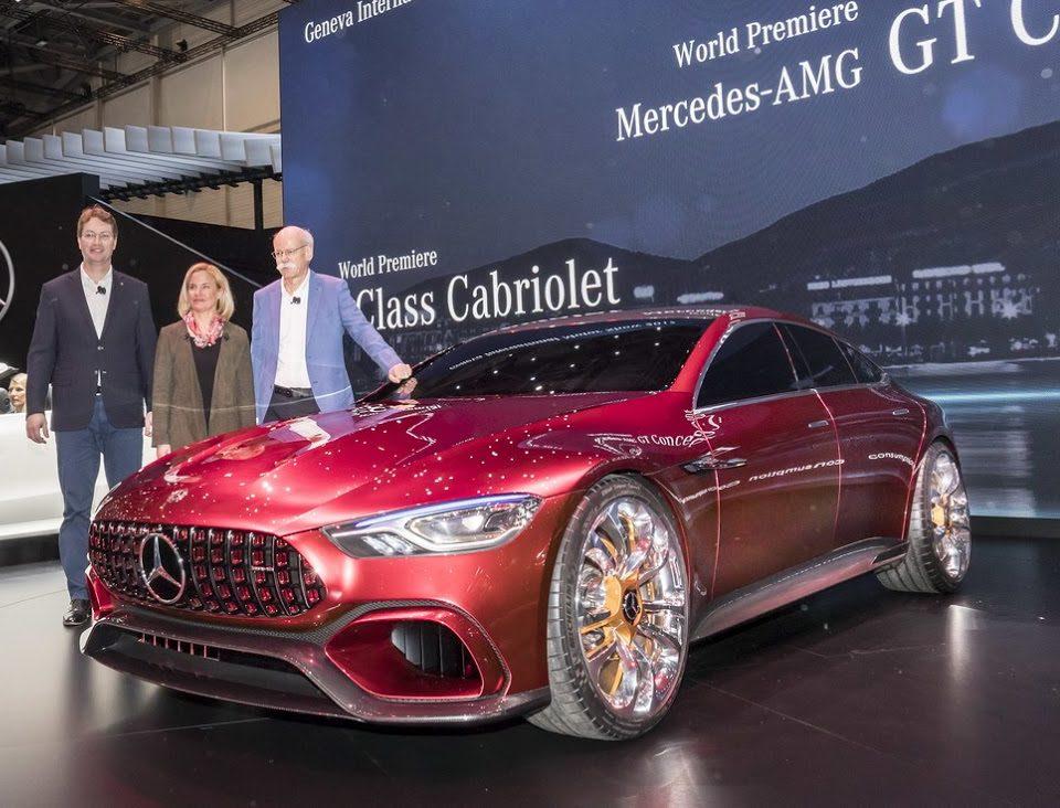 новый Концепт Mercedes-AMG GT 2017 фото