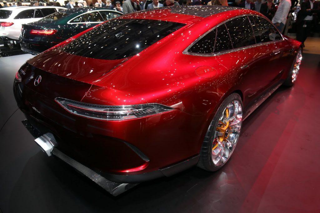 задняя часть Mercedes-AMG GT Concept 2017