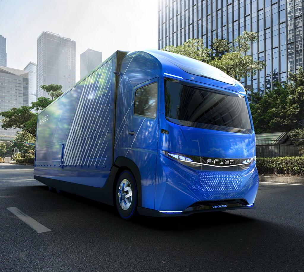 Электрогрузовик E-Fuso Vision One EV Truck фото. http://autompv.ru/