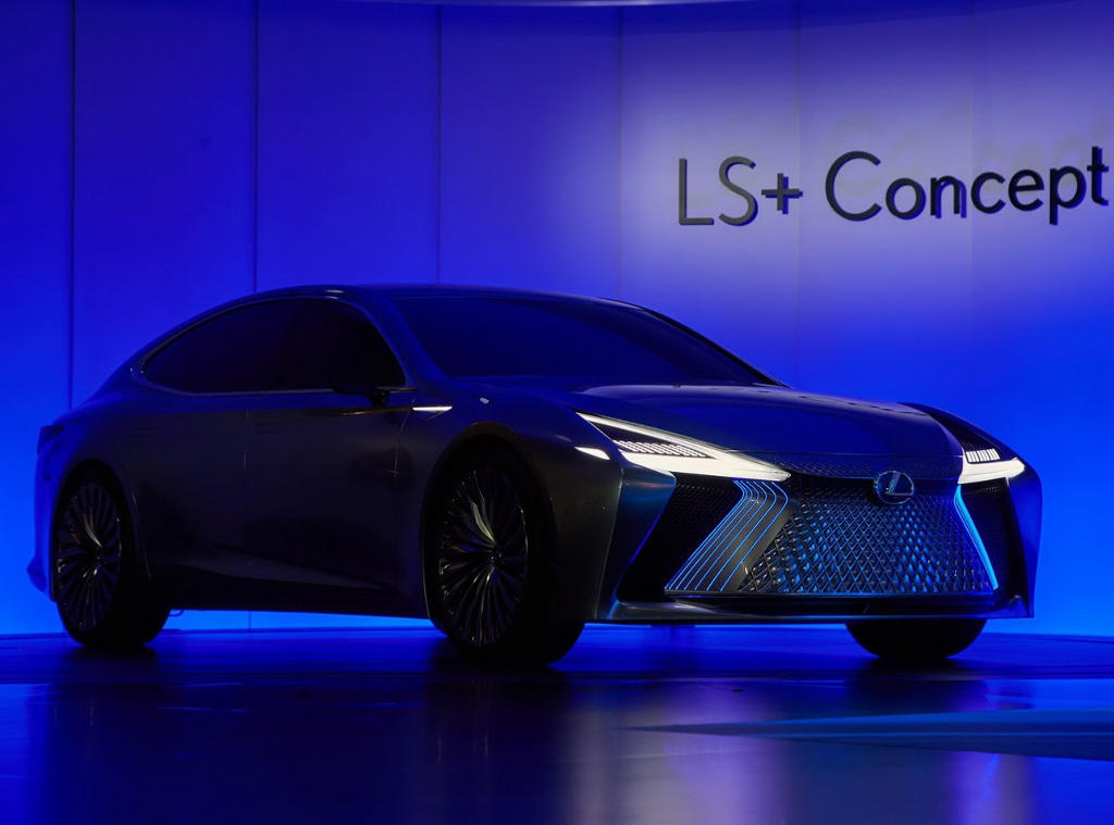 ещё фото Lexus LS+ концепт 2017
