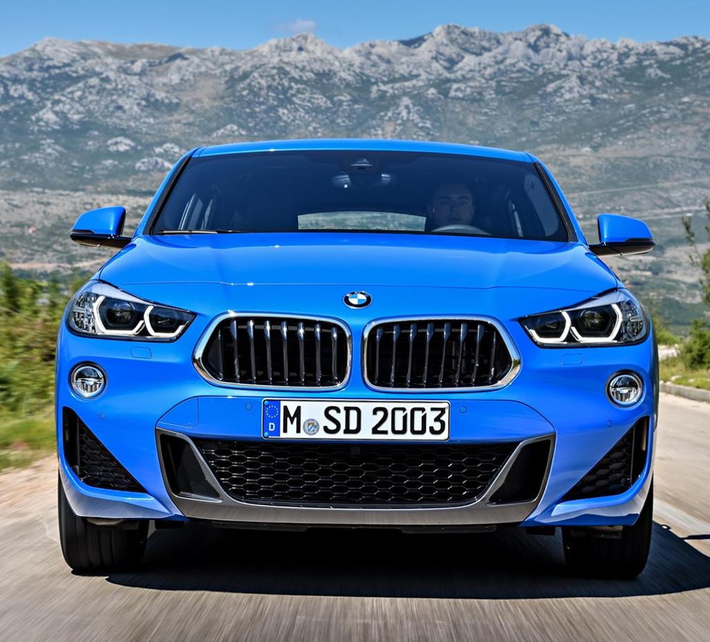фары, решетка, бампер BMW X2 2018