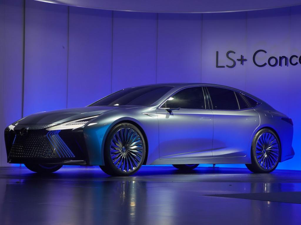 фото Lexus LS+ 2017 года
