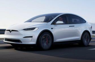 фото Tesla Model X SUV 2021-2022 в России