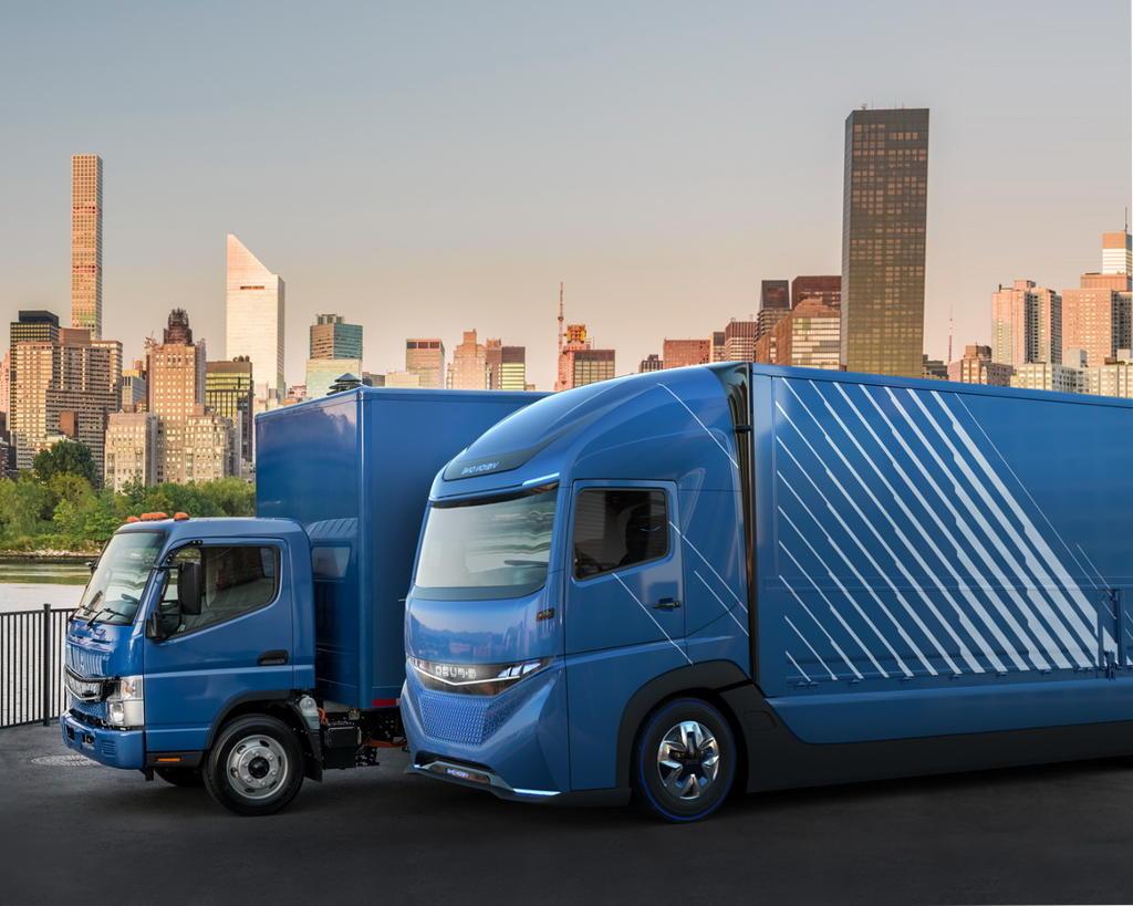 грузовик E-Fuso Vision One 2017