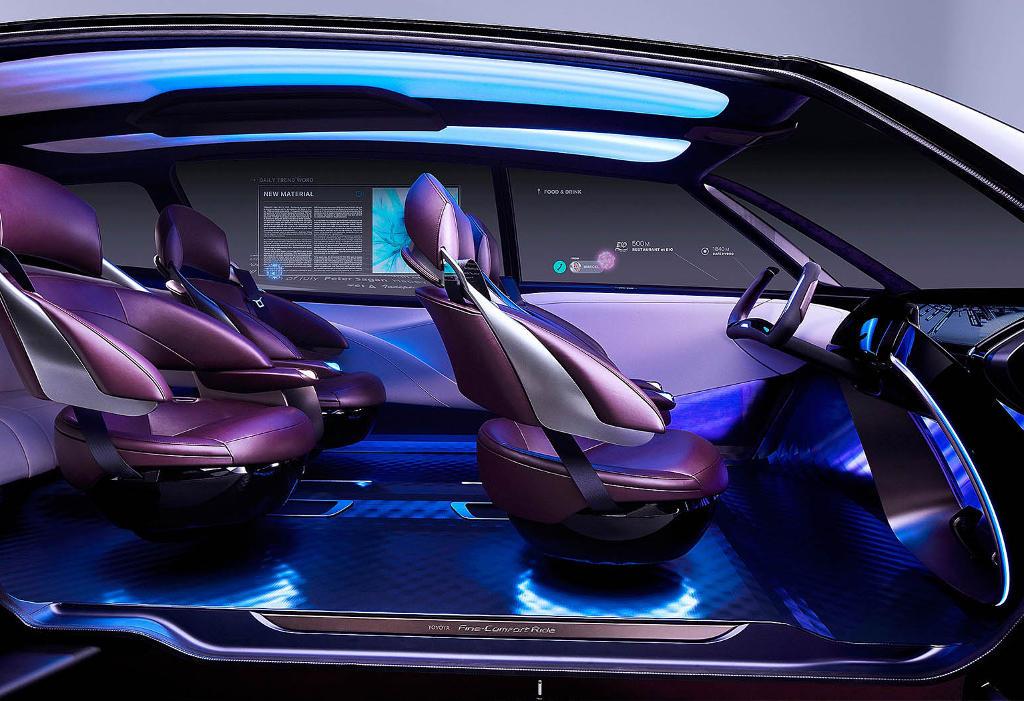 интерьер Toyota Fine-Comfort Ride