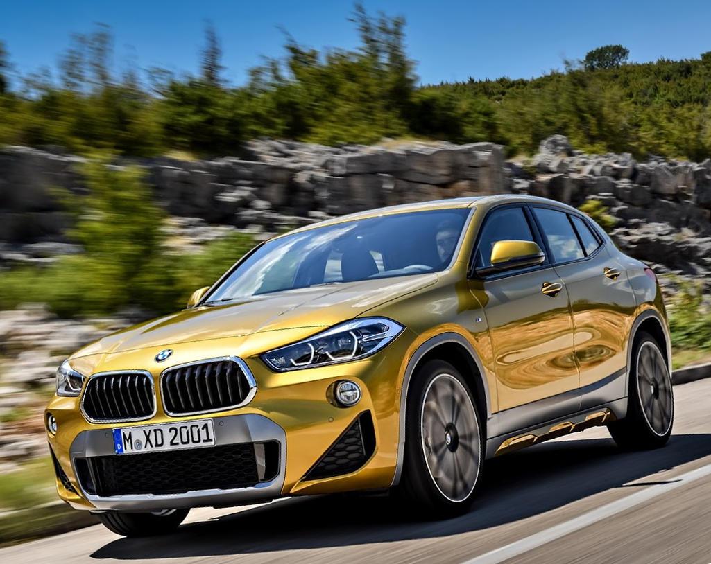 новый BMW X2 2018 в России