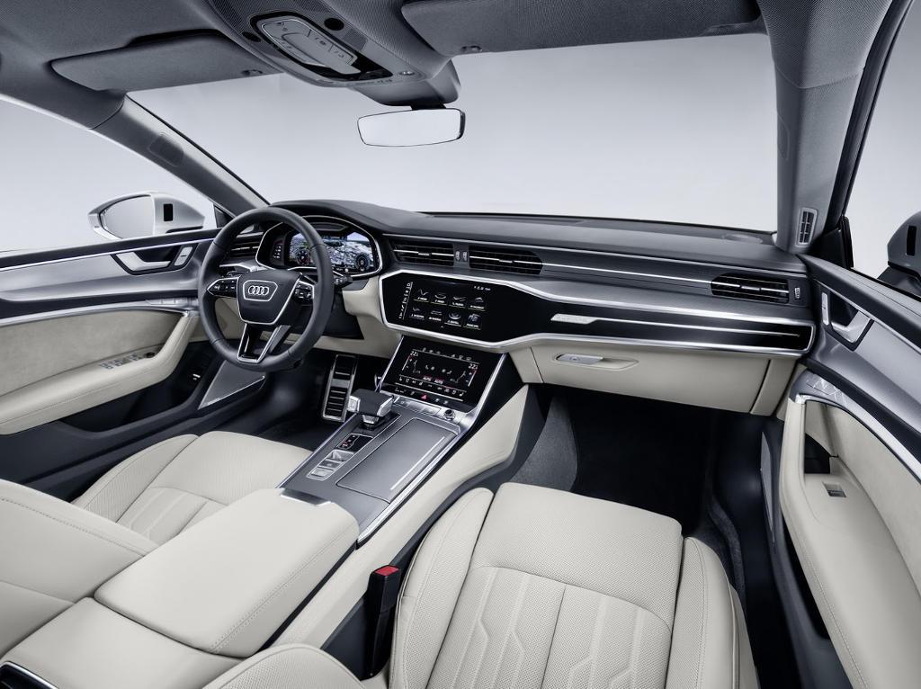 салон Audi A7 Sportback 2018